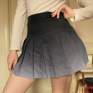 American Apparel Gradient Tennis Skirt